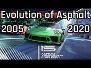 Evolution of Asphalt Games - Asphalt 1 (Urban GT) to Asphalt 9 - Legends - 15 Years Of Asphalt Games