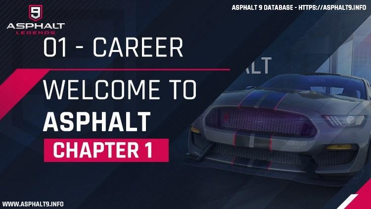 Asphalt 9: Legends/Career Mode/Chapter 1: Welcome To Asphalt