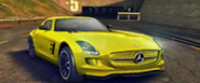 A8 Mercedes-Benz SLS AMG Electric Drive in-game art