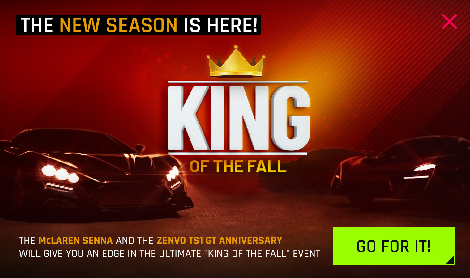 King of the Fall Event