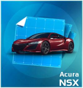 Acura NSX Blueprint