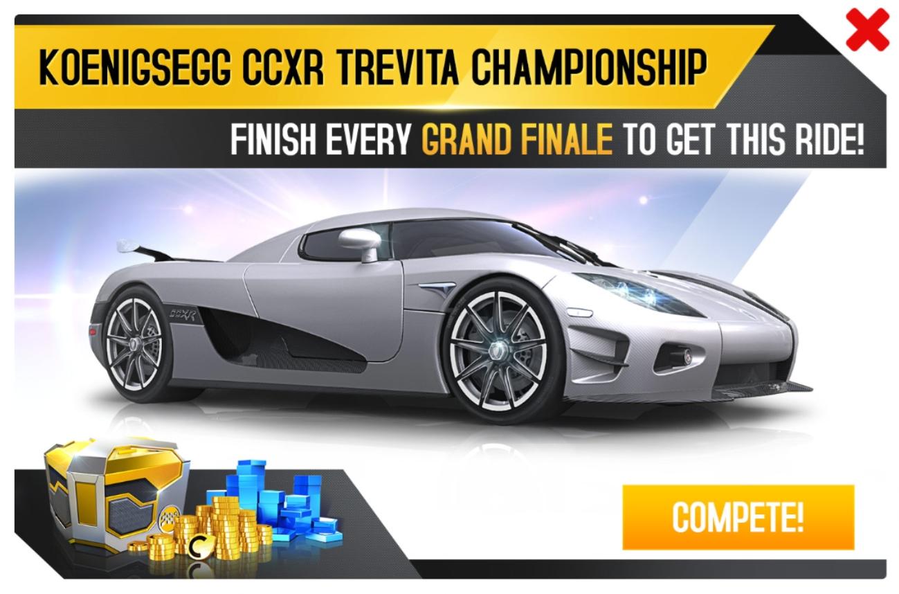 Koenigsegg CCXR Trevita (Championship)