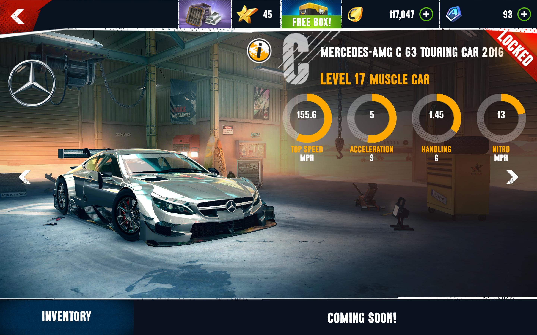 Mercedes-AMG C 63 Touring Car 2016