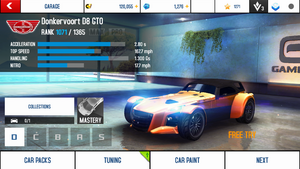 Donkervoort D8 GTO stock