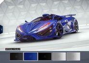A9 Inferno Blue