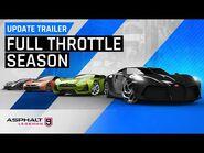 Asphalt 9 - Drive Syndicate - Full Throttle Update