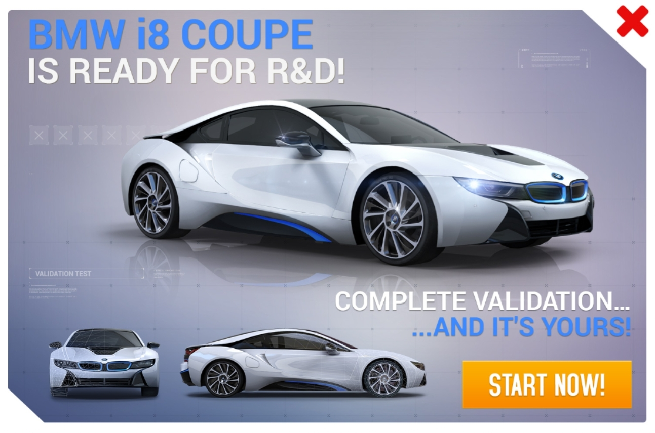 BMW i8 Coupe (Research & Development)