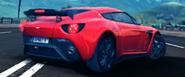 A8 Aston Martin V12 Zagato in-game art