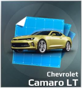 Chevrolet Camaro LT Blueprint