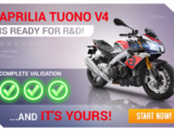 Aprilia Tuono V4 1100 RR my2017 (Research & Development)