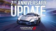 Asphalt 8 - 7th Anniversary Update Trailer