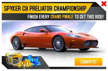 Spyker C8 Preliator Championship Promo.png