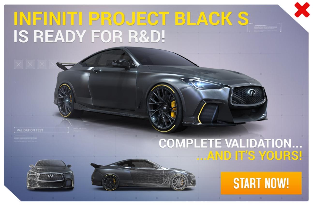Infiniti Project Black S (Research & Development)