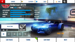 D8 GTO stats (M)