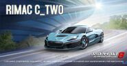 Rimac C Two Facebook promo A8