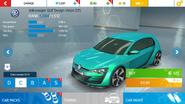 AN Volkswagen Golf Design Vision GTI stock