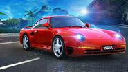 A8A Porsche 959 banner