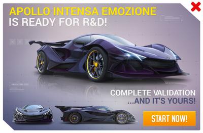 Apollo Intensa Emozione R&D Promo.png