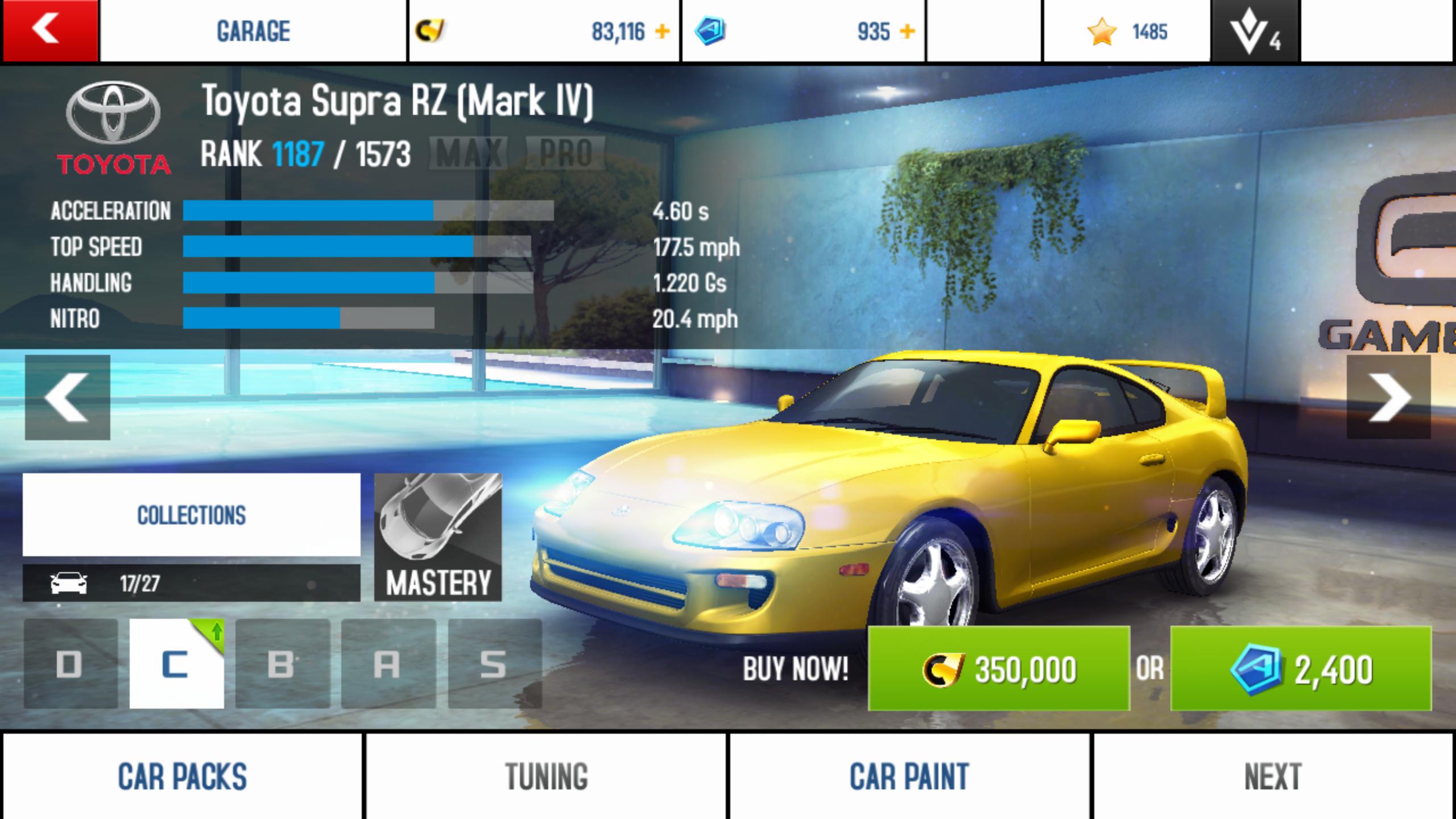 Toyota Supra RZ (Mark IV)