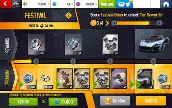 A8 Senna Festival Rewards.png