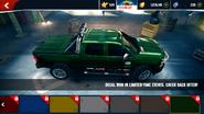 Chevrolet Silverado 2500HD decals 17 ax