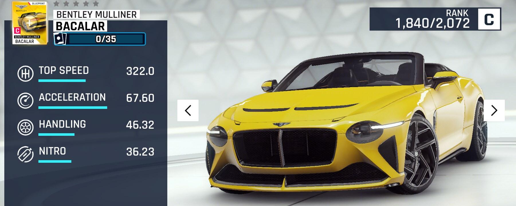 Bentley Mulliner Bacalar Asphalt Wiki Fandom