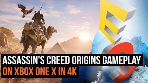Assassin's Creed Origins - 30 minutes of Xbox One X gameplay in 4K
