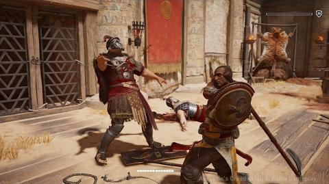 Assassin's Creed Origins Битва на гладіаторській арені в Крокодилополісі-0