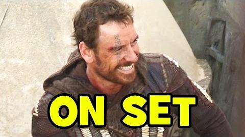 Behind The Scenes on ASSASSIN'S CREED (Movie B-Roll) - Michael Fassbender, Marion Cotillard