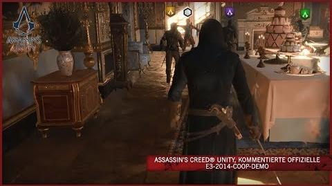 Assassin's Creed Unity, kommentierte offizielle E3-2014-Coop-Demo DE