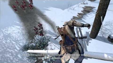 Assassin's Creed III - AnvilNext-trailer