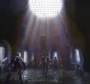 ACU Prison Bastille Concept Art