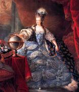 Marie-Antoinette; koningin der Fransen