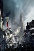 ACU Notre-Dame March - Concept Art