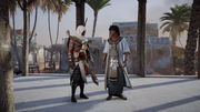 ACO New Kid in Town - Bayek and Ramessu