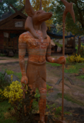 ACV Anubis statue