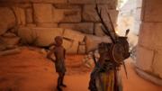 ACO What's Yours Is Mine - Bayek speaking to Ngozi