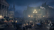 ACS Londres Pluie Nuit Screen