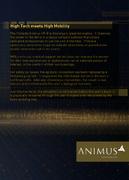 ACO Documentation - Animus Guide - High Tech meets High Mobility