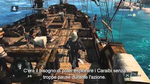 13 Minuti di gameplay Open-World Assassin's Creed 4 Black Flag IT