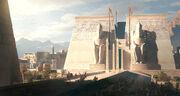ACO Ptah Temple - Concept Art