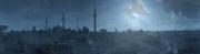 Constantinople at night - Panoramic