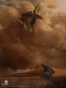 ACO Anubis Concept Art - Martin Deschambault