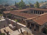 Gymnasium, Thebes