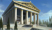 ACO Temple of Zeus - Concept Art 1