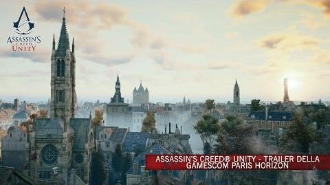 Assassin's Creed Unity - Trailer della Gamescom Paris Horizon IT