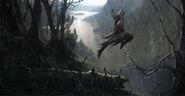 Connor saut falaise concept