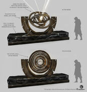Observatory Armillary Sphere - Concept Art