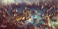 ACIV Man o'War Armada concept