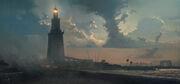 ACO Alexandria Lighthouse - Concept Art